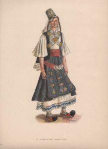 Αθηνά Ταρσούλη. Γυναικεία ενδυμασία Νομάδων Πίνδου