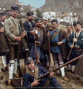 Έλληνες εθελοντές στο Θεσσαλικό Μέτωπο Καλαμπάκα, 1897