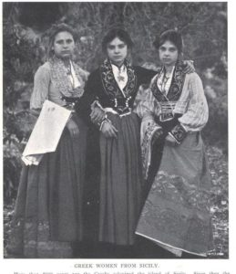 Greek women from Sicily